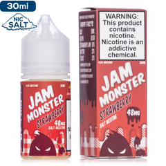 Jam Moster Salt by Jam Monster Strawberry | Nic Salt eJuice