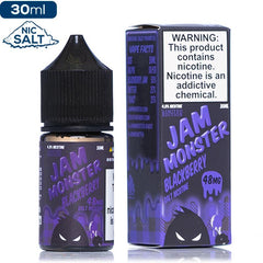 Jam Monster Salt - Blackberry Nic Salt eJuice Jam Monster Salt