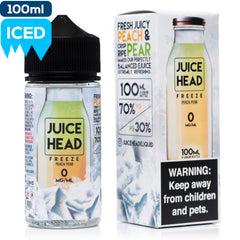 Juice Head Freeze - Peach Pear eJuice Juice Head-Freeze