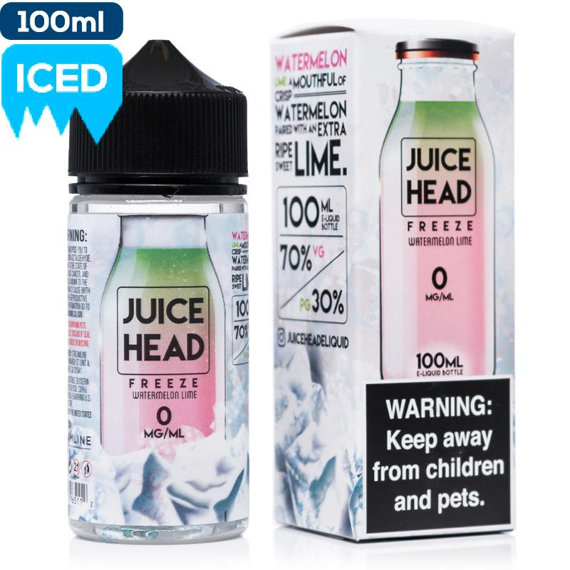 Juice Head Freeze - Watermelon Lime eJuice Juice Head-Freeze