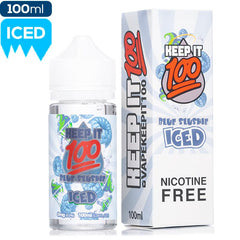 Keep It 100 - Blue Slushie Iced eJuice Keep It 100