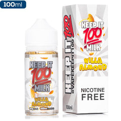 Keep It 100 - Nilla Almond Milk eJuice Keep It 100