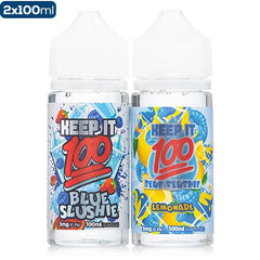 Keep It 100 Blue Slushie 2 Pack Pack Deal Keep It 100