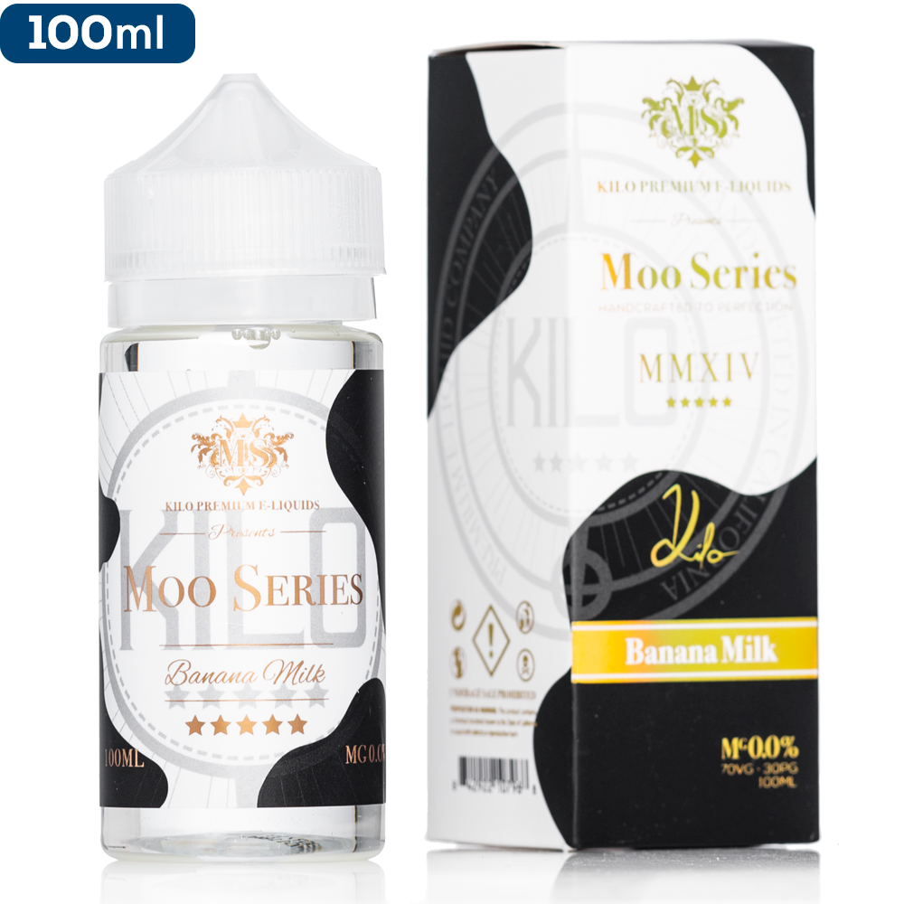 Kilo MOO Series - Banana Milk eJuice - buy-ejuice-direct