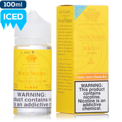 Kilo Sour Series On Ice - Green Apple Sours Ice - buy-ejuice-direct