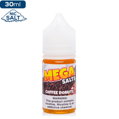 MEGA Salts by Verdict Vapors - Coffee Donuts Nic Salt eJuice Verdict Vapors-MEGA