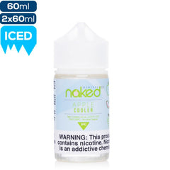 Naked 100 Menthol - Apple Cooler eJuice Naked100-Menthol