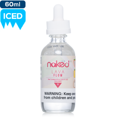 Naked 100 Ice Lava Flow Premium E-Liquid | Iced Fruit eJuice