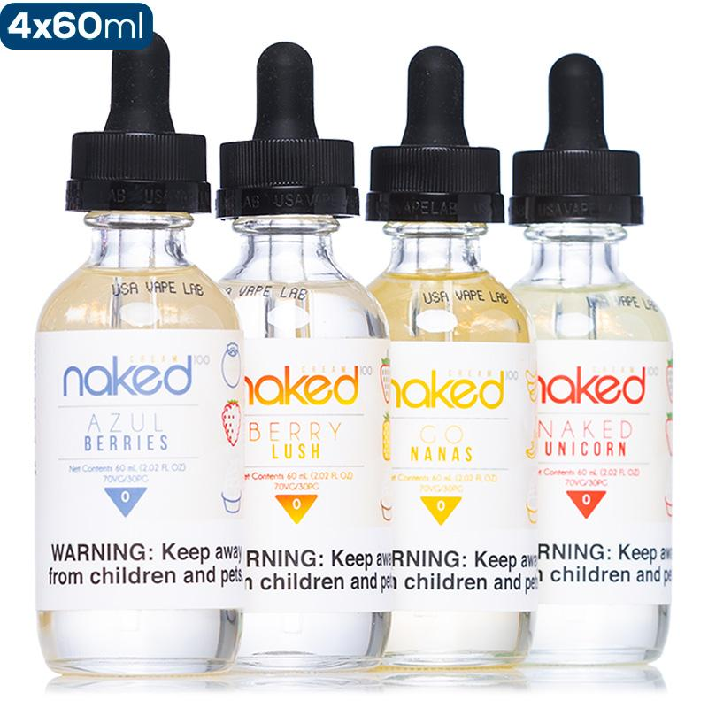 Naked 100 Cream 4-Pack - buy-ejuice-direct