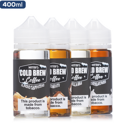 Nitro's Cold Brew Coffee 4-Pack Deal | Vape Bundle