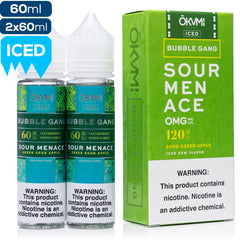 Bubble Gang Iced by Okami - Sour Menace eJuice Okami-Bubble Gang Iced