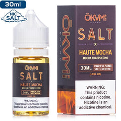 Okami Salt - Haute Mocha - buy-ejuice-direct