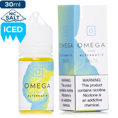 Alternativ by Marina Vape Omega Premium Nicotine Salt eLiquid eJuice Direct