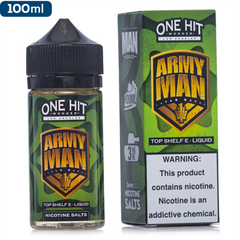 One Hit Wonder Army Man Vape Juice | 100ml $17.99