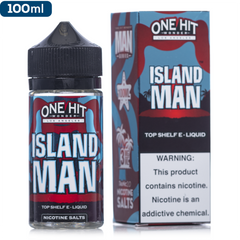 One Hit Wonder E-Liquid Island Man Vape Juice | 100ml $17.99