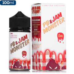 Jam Monster - PB & Jam Strawberry - buy-ejuice-direct