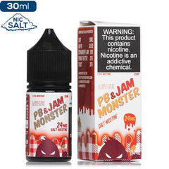 Jam Monster Salt - PB & Jam Strawberry Nic Salt eJuice Jam Monster Salt