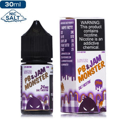 PB & Jam Monster Salt Premium Vape Juice eJuice Direct
