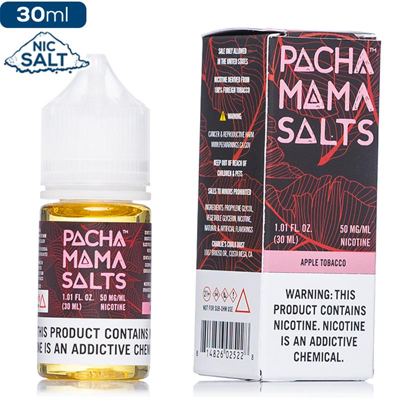 Pachamama Salts - Apple Tobacco - buy-ejuice-direct