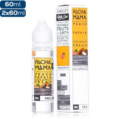 Pachamama - Peach Papaya Coconut Cream - buy-ejuice-direct