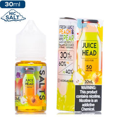 Juice Head Salt - Peach Pear Nic Salt eJuice Juice Head Salt