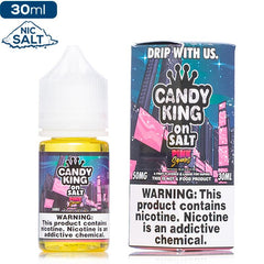 Candy King on Salt - Pink Squares Nic Salt eJuice Candy King