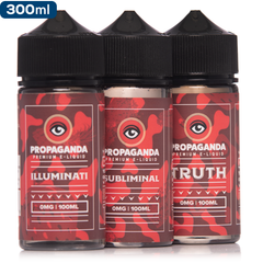 Propaganda E-Liquid 3 Pack Deal - buy-ejuice-direct