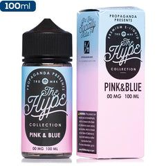 The Hype Collection - Pink & Blue eJuice Propaganda-The Hype Collection