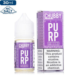 Chubby Bubble Salt Bubble Purp Premium Nicotine Salt eLiquid eJuice Direct