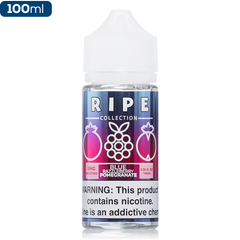 Ripe Collection by Vape 100 Blue Razzleberry Pomegranate Premium Vape Juice eJuice Direct