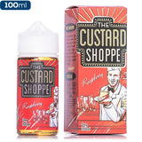 The Custard Shoppe - Raspberry - buy-ejuice-direct