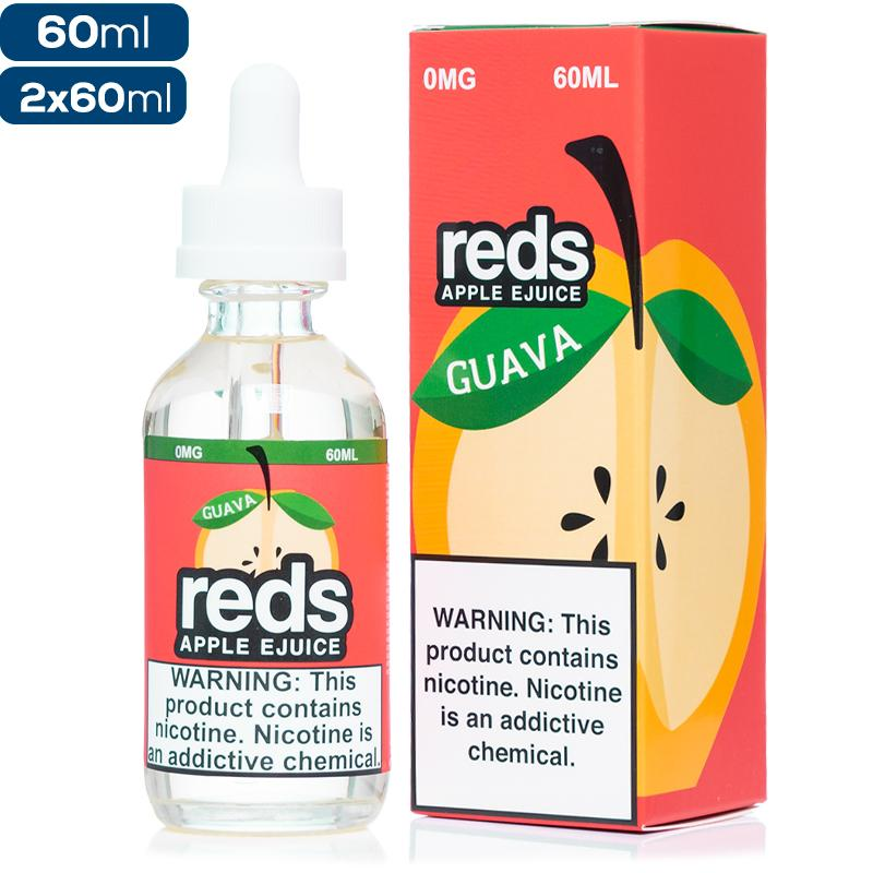Reds Apple eJuice Guava Premium Vape Juice eJuice Direct