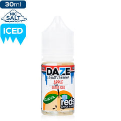 Daze Apple Salt Series Guava Iced Nic Salt eLiquid | eJuice Direct