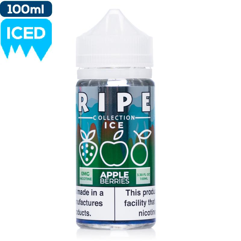 Ripe Collection on Ice by Vape 100 - Apple Berries eJuice Vape 100-Ripe Collection on Ice