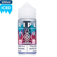 Ripe Collection on Ice by Vape 100 - Blue Razzleberry Pomegranate eJuice Vape 100-Ripe Collection on Ice