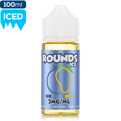 Rounds E-Liquid Blue Mango Ice Vape Juice | Menthol eJuice