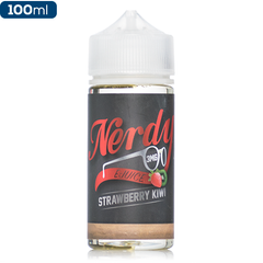 Nerdy E-Liquids Strawberry Kiwi Premium Vape Juice | eJuice Direct