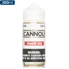 Holy Cannoli Strawberry Cream Premium Vape Juice eJuice Direct