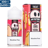 Air Factory Treat Strawberry Crush Premium Vape Juice eJuice Direct
