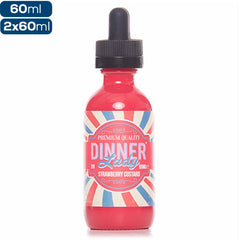 Dinner Lady - Strawberry Custard - buy-ejuice-direct