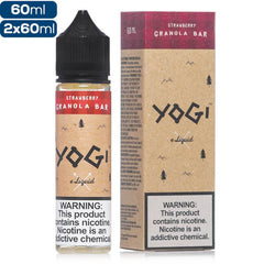 Yogi - Strawberry Granola Bar ejuice Yogi eLiquid