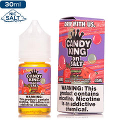 Candy King on Salt - Strawberry Watermelon Bubblegum Nic Salt eJuice Candy King