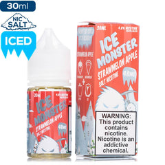 Ice Monster Salt - Strawmelon Apple Nic Salt eJuice Jam Monster Salt