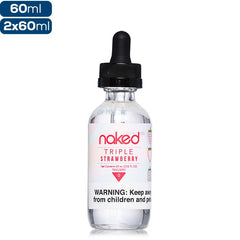 Naked 100 Fusion - Triple Strawberry - buy-ejuice-direct