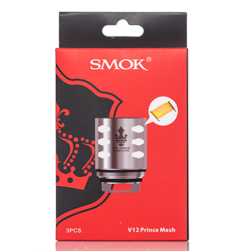 SMOK V12 Prince Mesh 0.15 ohm Coils 3-Pack - buy-ejuice-direct