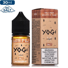 Yogi Salt - Vanilla Tobacco Granola Bar - buy-ejuice-direct