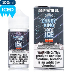 Candy King on Ice - Worms ejuice Candy King on Ice