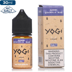 Yogi Salt - Blueberry Granola Bar - buy-ejuice-direct
