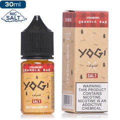 Yogi Salt - Strawberry Granola Bar - buy-ejuice-direct