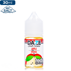 Daze MFG Reds Apple Salt Series - Original Nic Salt eJuice Reds Apple Salt Series